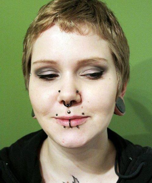Nasalang - Lippe - Septum - Medusa