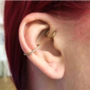 conch ring rook piercing
