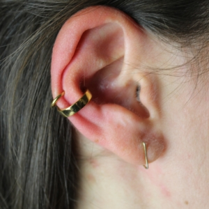 conch low helix lobe piercing