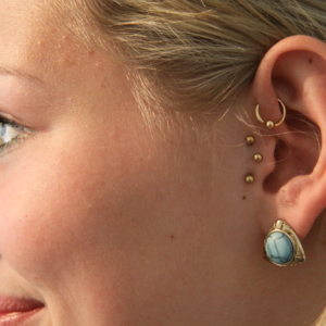 forward anti helix vertical tragus piercing